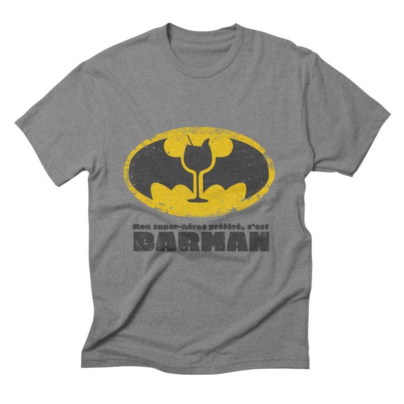 Barman Men's Triblend T-Shirt by fillettespompettes's Shop