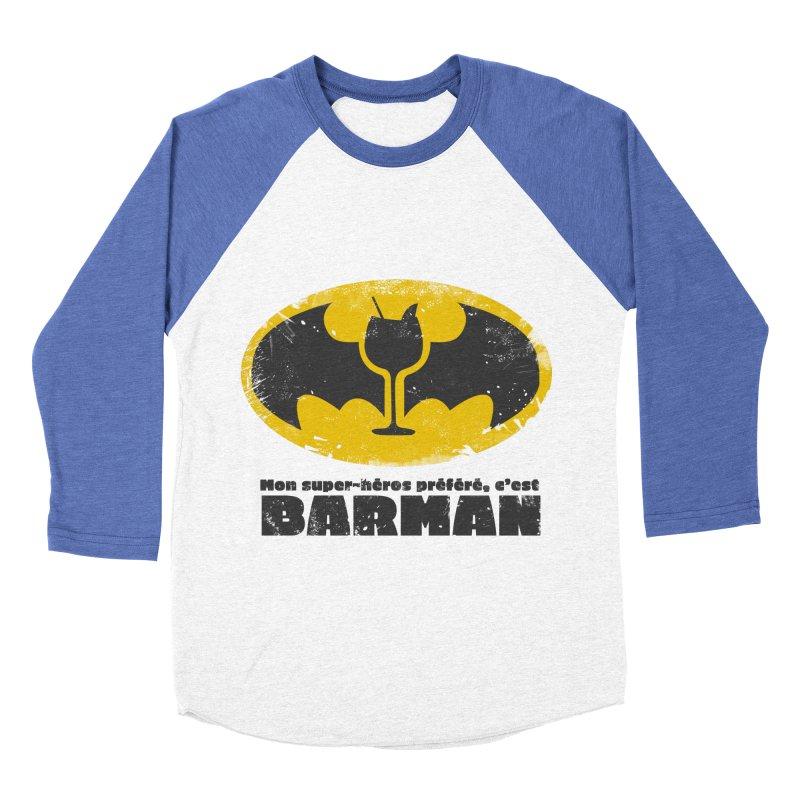 Barman Men's Baseball Triblend Longsleeve T-Shirt by fillettespompettes's Shop