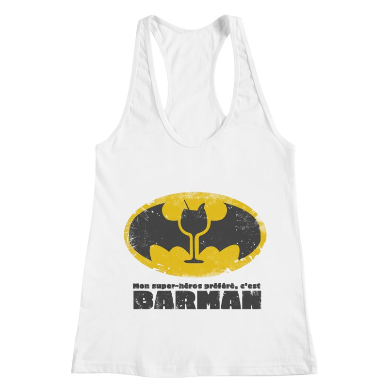 Barman Women's Racerback Tank by fillettespompettes's Shop