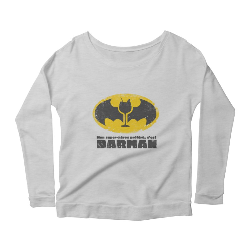 Barman Women's Scoop Neck Longsleeve T-Shirt by fillettespompettes's Shop