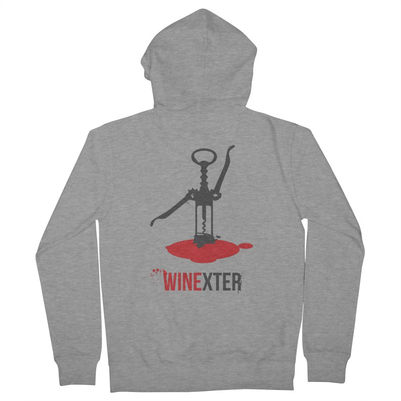 Winexter Men's French Terry Zip-Up Hoody by fillettespompettes's Shop
