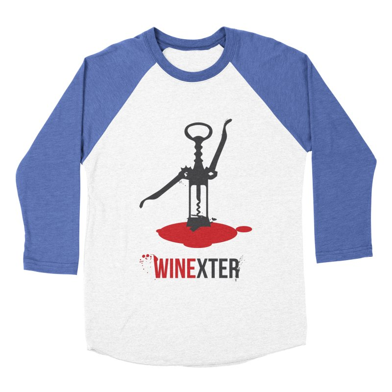 Winexter Women's Baseball Triblend Longsleeve T-Shirt by fillettespompettes's Shop