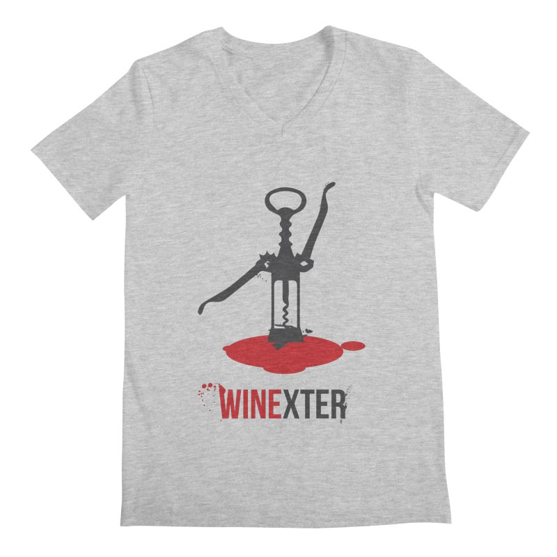 Winexter Men's Regular V-Neck by fillettespompettes's Shop