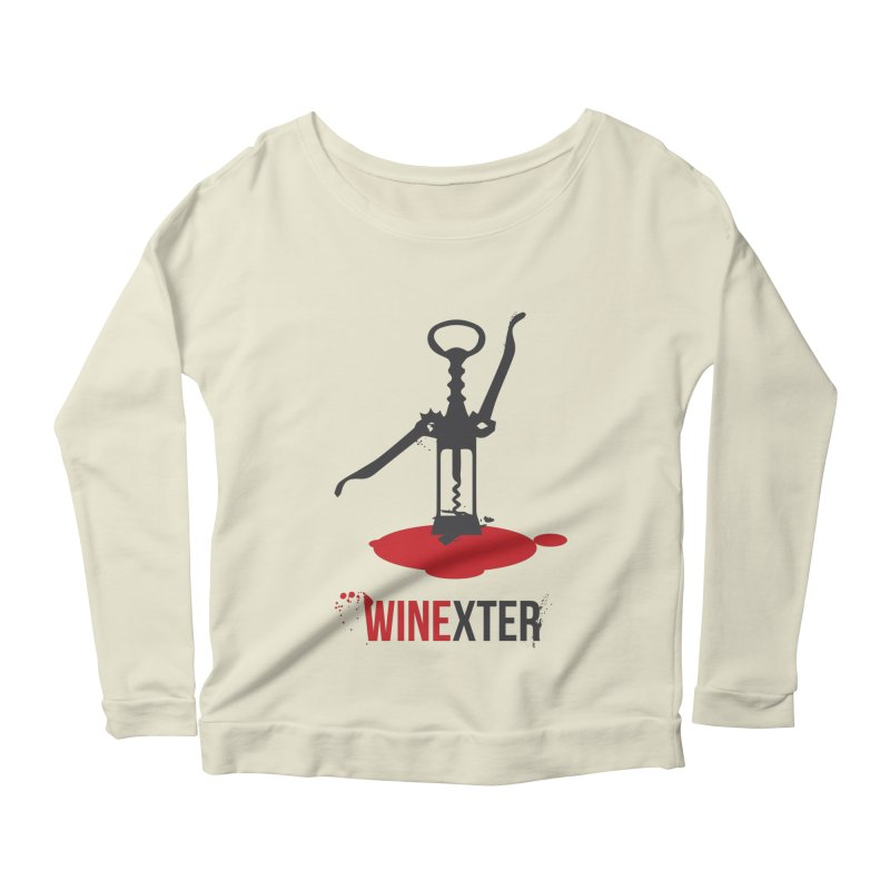 Winexter Women's Scoop Neck Longsleeve T-Shirt by fillettespompettes's Shop