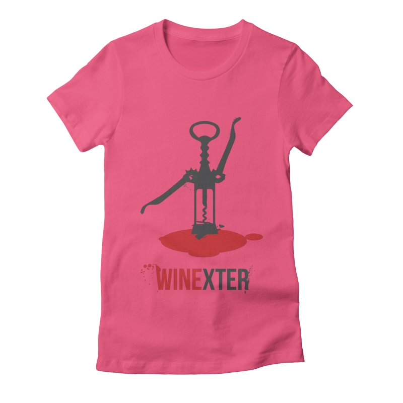 Winexter Women's Fitted T-Shirt by fillettespompettes's Shop