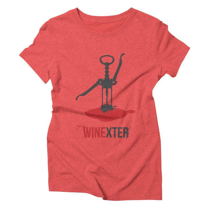 Winexter Women's Triblend T-Shirt by fillettespompettes's Shop