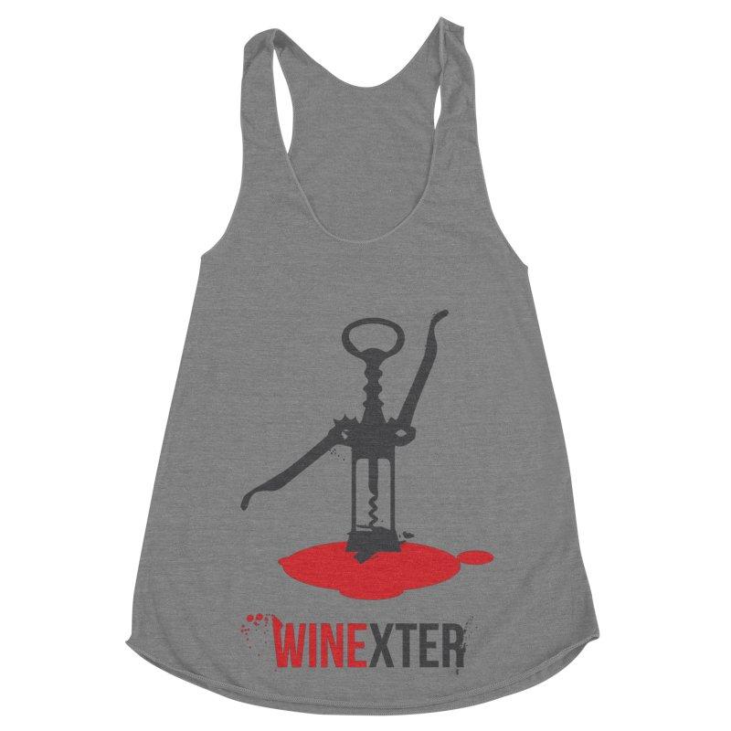 Winexter Women's Racerback Triblend Tank by fillettespompettes's Shop