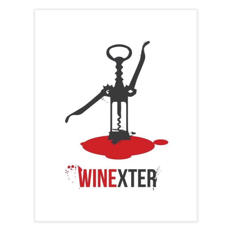 Winexter Home Fine Art Print by fillettespompettes's Shop