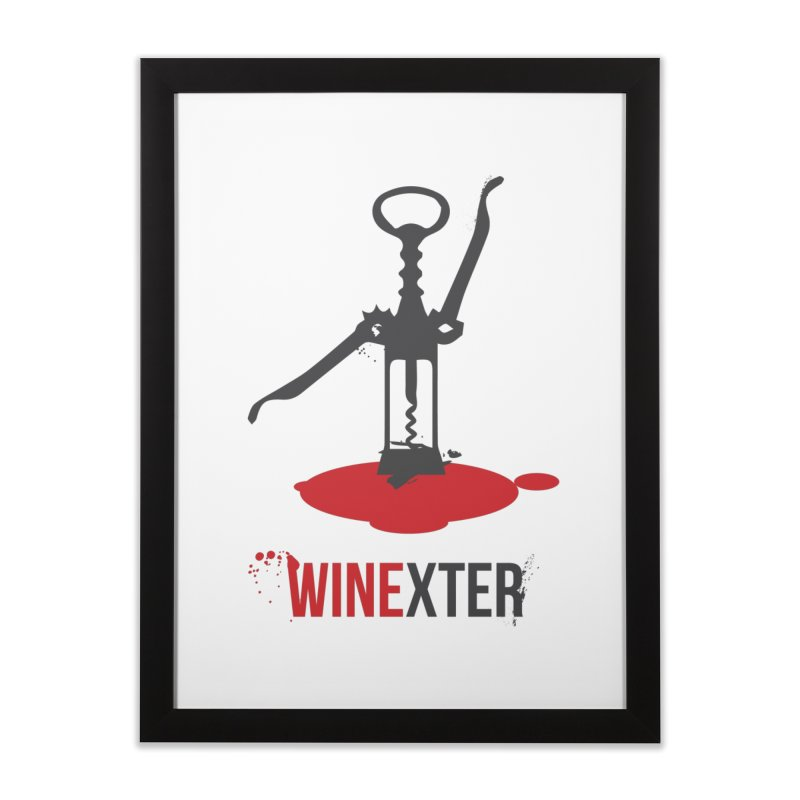 Winexter Home Framed Fine Art Print by fillettespompettes's Shop