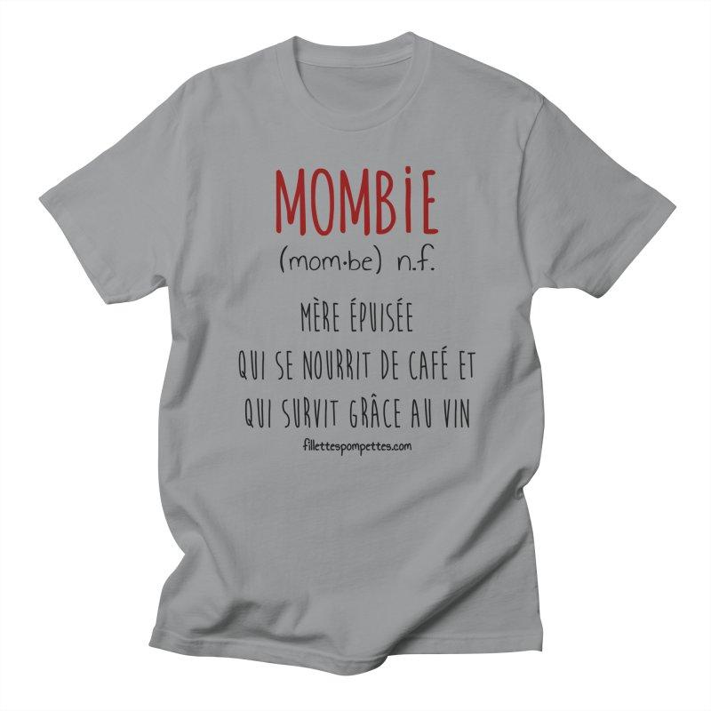 Mombie Women's Regular Unisex T-Shirt by fillettespompettes's Shop