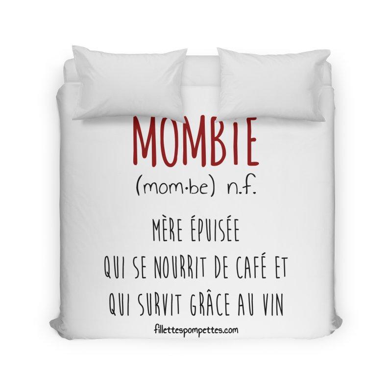 Mombie Home Duvet by fillettespompettes's Shop