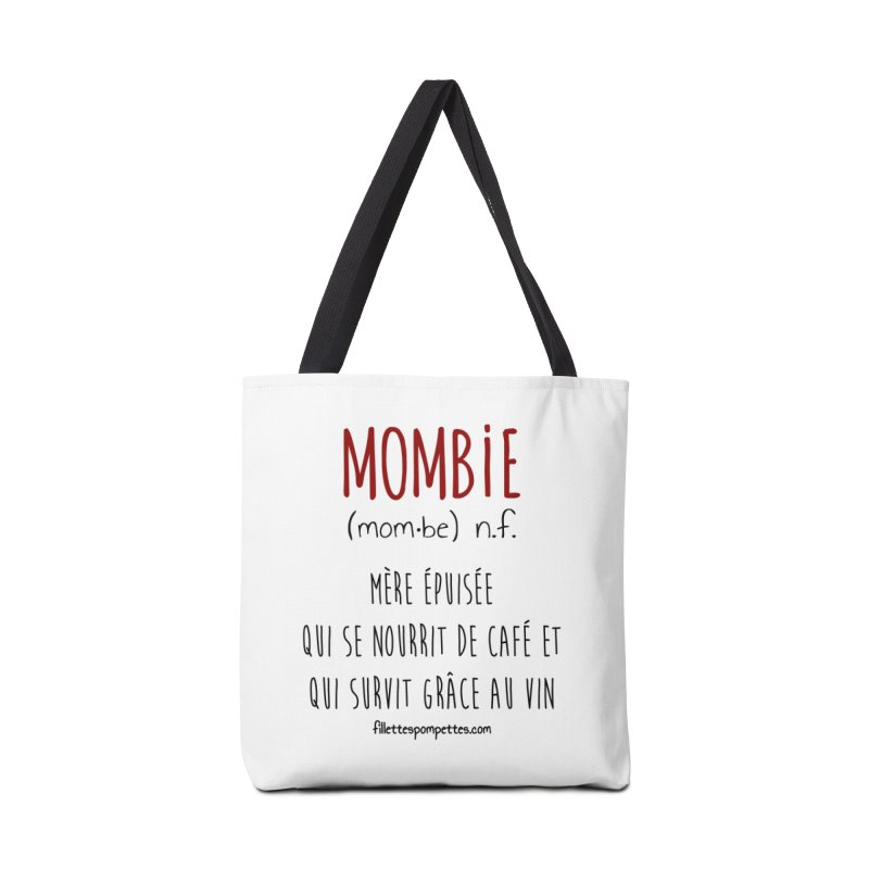 Mombie Accessories Tote Bag Bag by fillettespompettes's Shop