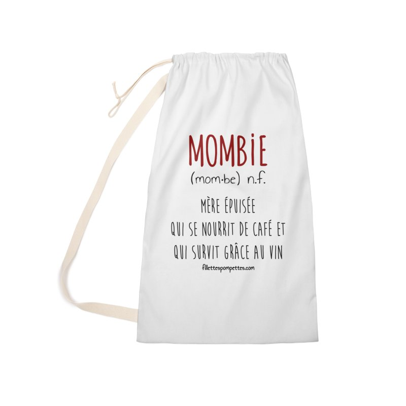 Mombie Accessories Laundry Bag Bag by fillettespompettes's Shop