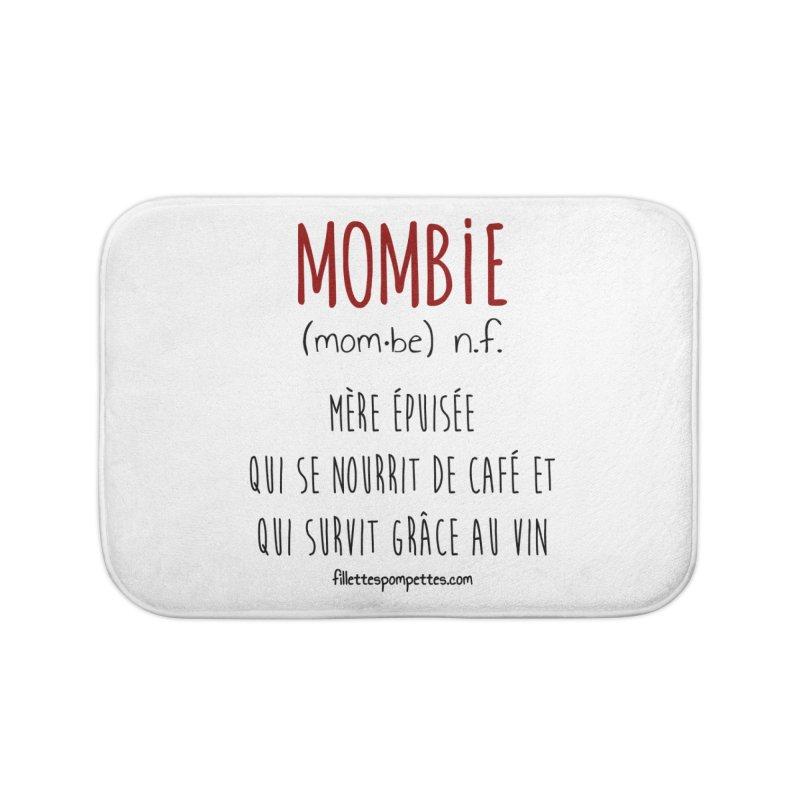 Mombie Home Bath Mat by fillettespompettes's Shop