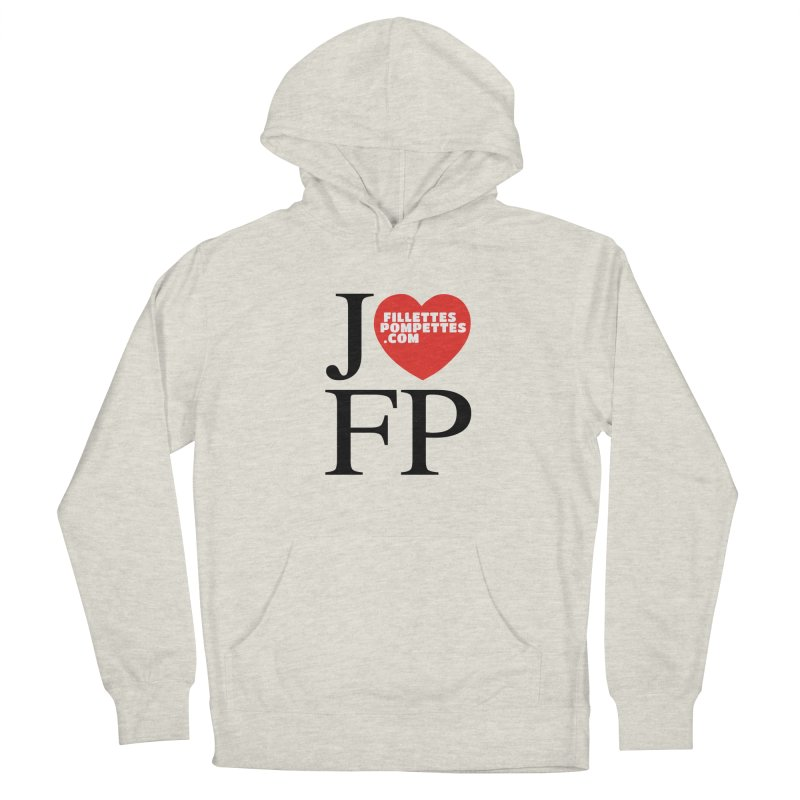 J'AIME LES FILLETTES POMPETTES Men's French Terry Pullover Hoody by fillettespompettes's Shop