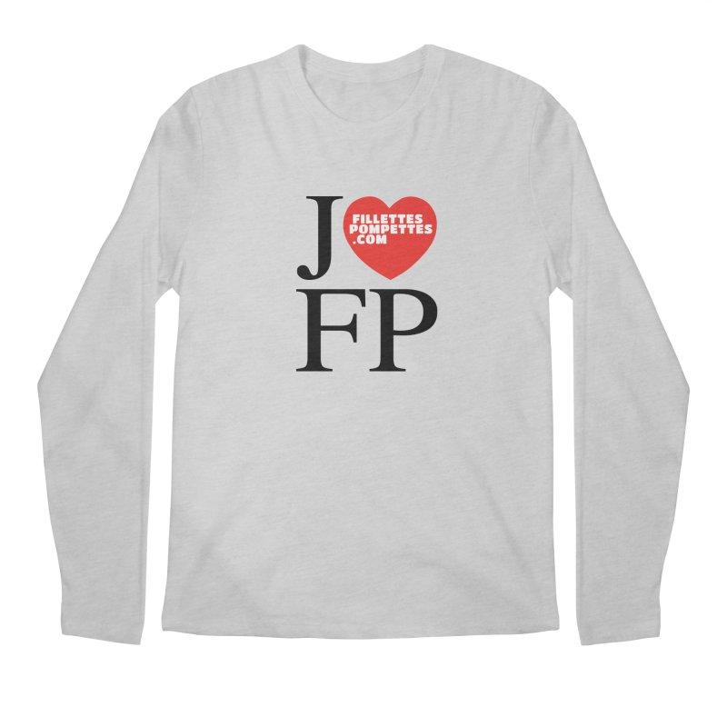 J'AIME LES FILLETTES POMPETTES Men's Regular Longsleeve T-Shirt by fillettespompettes's Shop