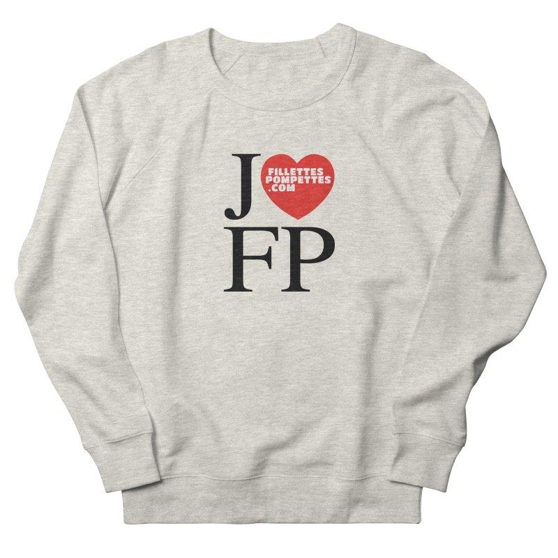 J'AIME LES FILLETTES POMPETTES Men's French Terry Sweatshirt by fillettespompettes's Shop