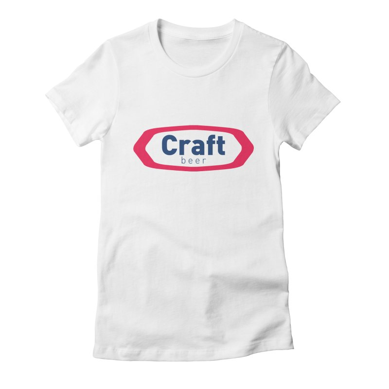 Crafty Women's Fitted T-Shirt by Fillistrator's Artist Shop