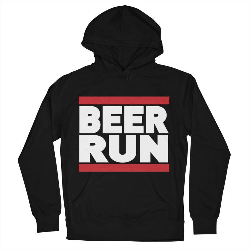 Beer Run  Women's Pullover Hoody by Fillistrator's Artist Shop
