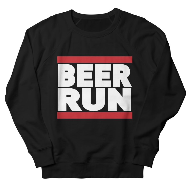 Beer Run  Men's Sweatshirt by Fillistrator's Artist Shop