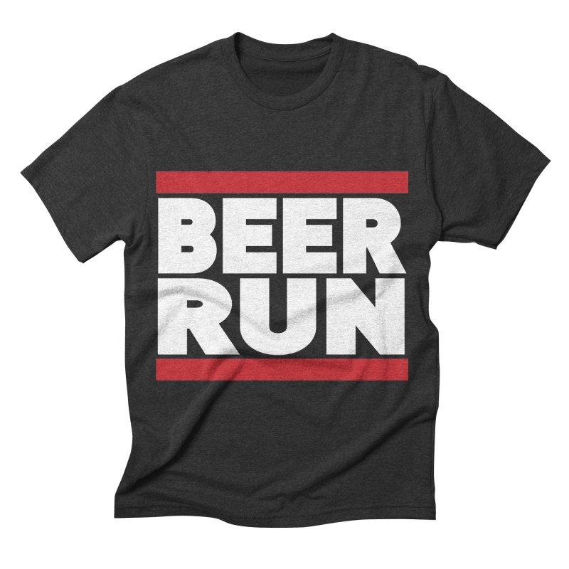 Beer Run  Men's Triblend T-shirt by Fillistrator's Artist Shop