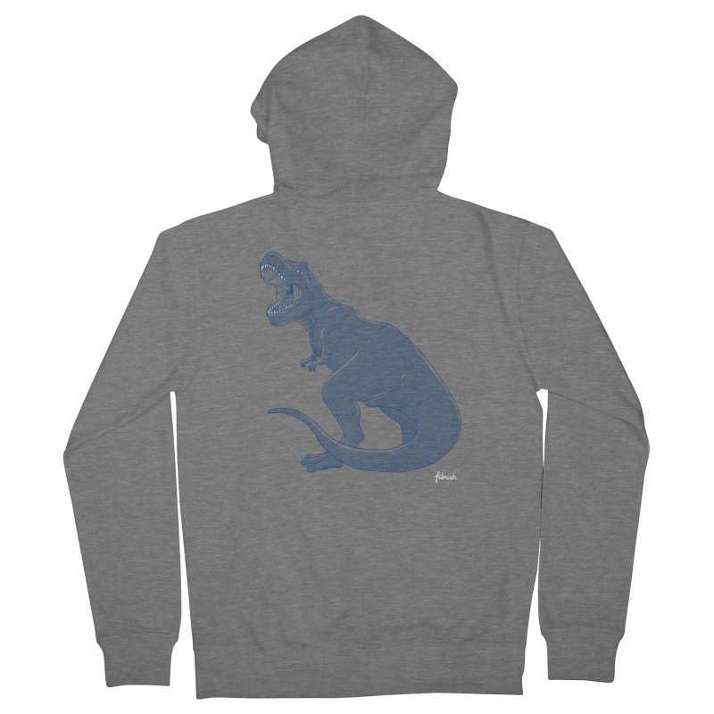 Life Finds A Way Women's French Terry Zip-Up Hoody by Filmish Tees