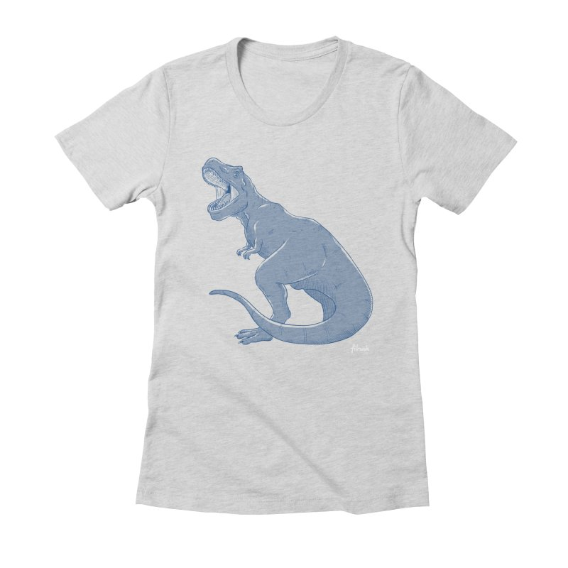 Life Finds A Way Women's Fitted T-Shirt by Filmish Tees