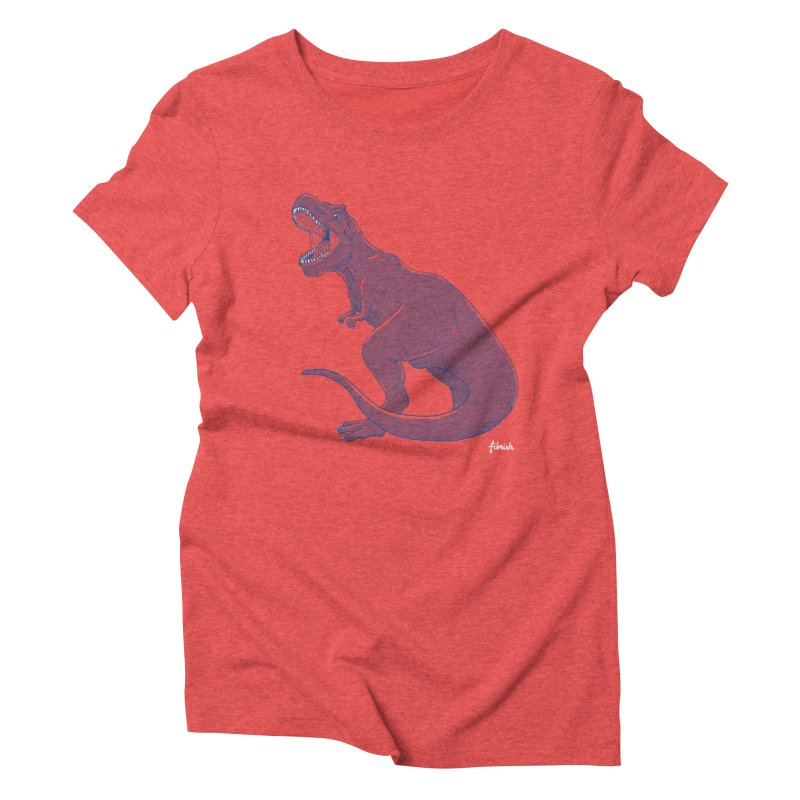 Life Finds A Way Women's Triblend T-Shirt by Filmish Tees