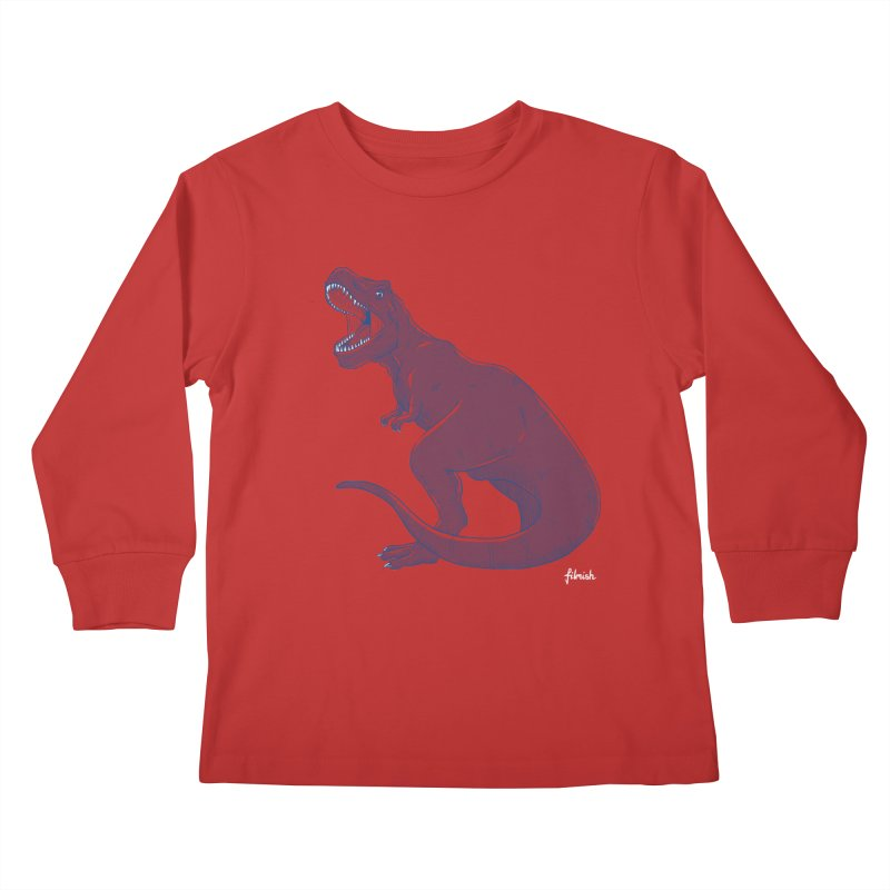 Life Finds A Way Kids Longsleeve T-Shirt by Filmish Tees