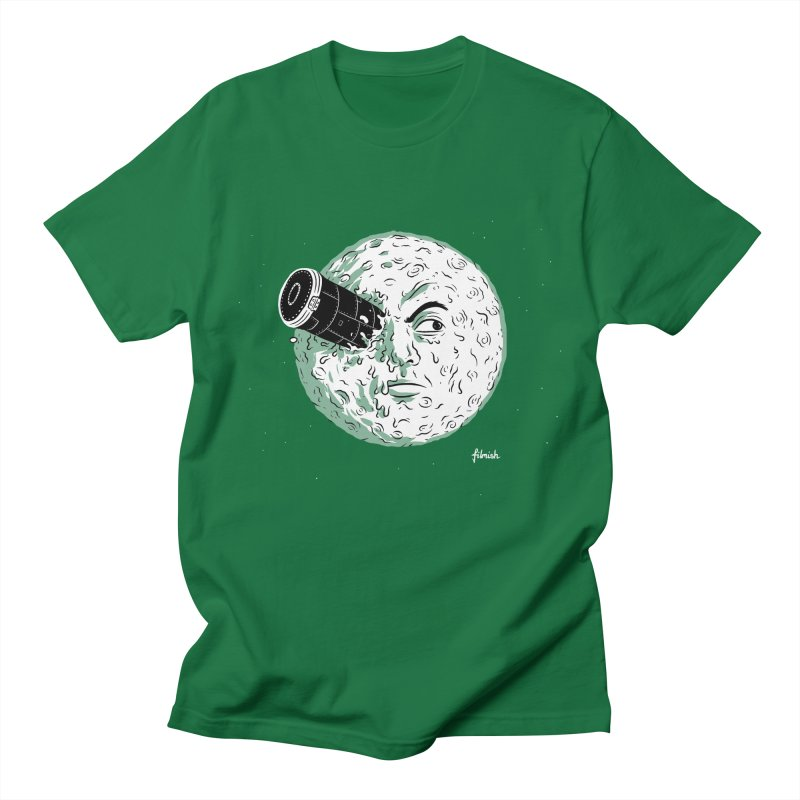 A Trip to the Moon Men's T-Shirt by Filmish Tees