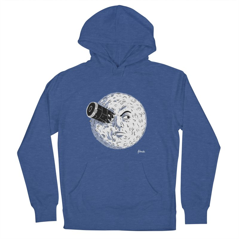 A Trip to the Moon Women's Pullover Hoody by Filmish Tees