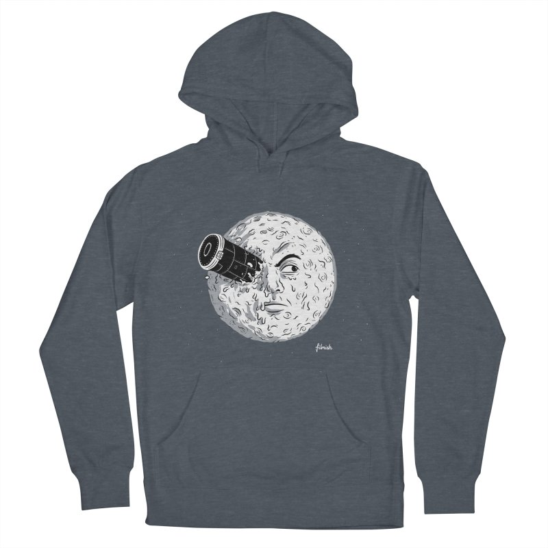A Trip to the Moon Men's Pullover Hoody by Filmish Tees