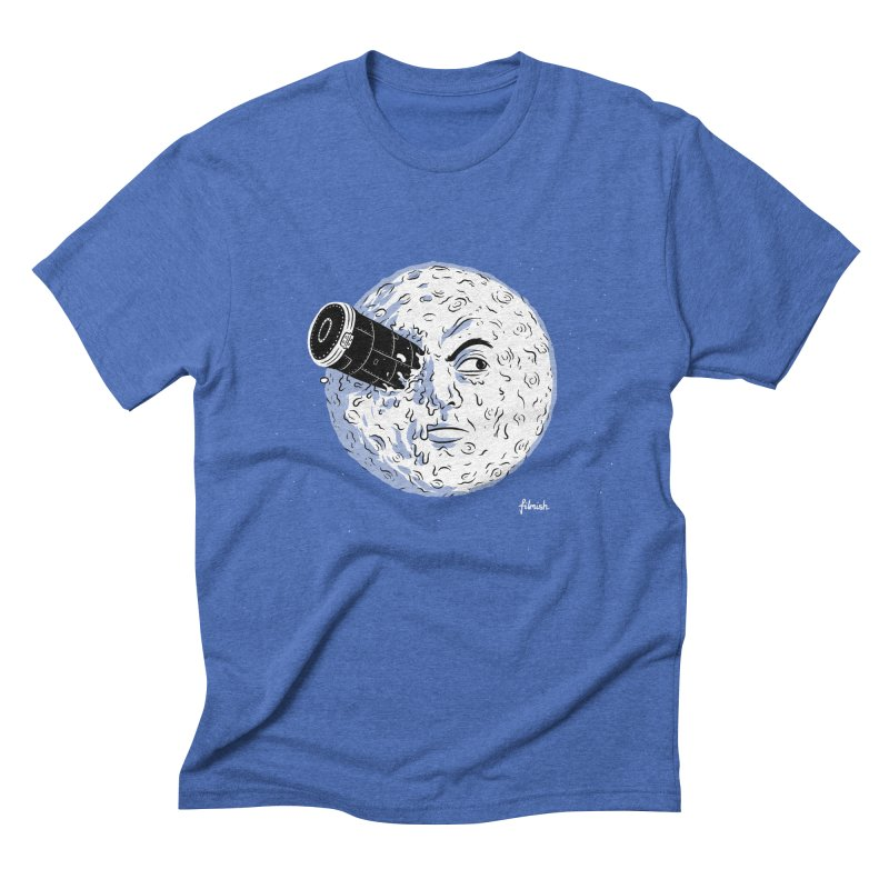 A Trip to the Moon Men's Triblend T-Shirt by Filmish Tees