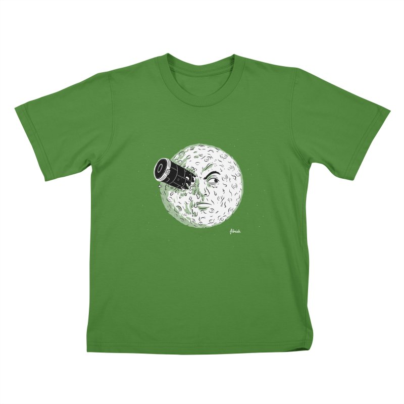 A Trip to the Moon Kids T-shirt by Filmish Tees