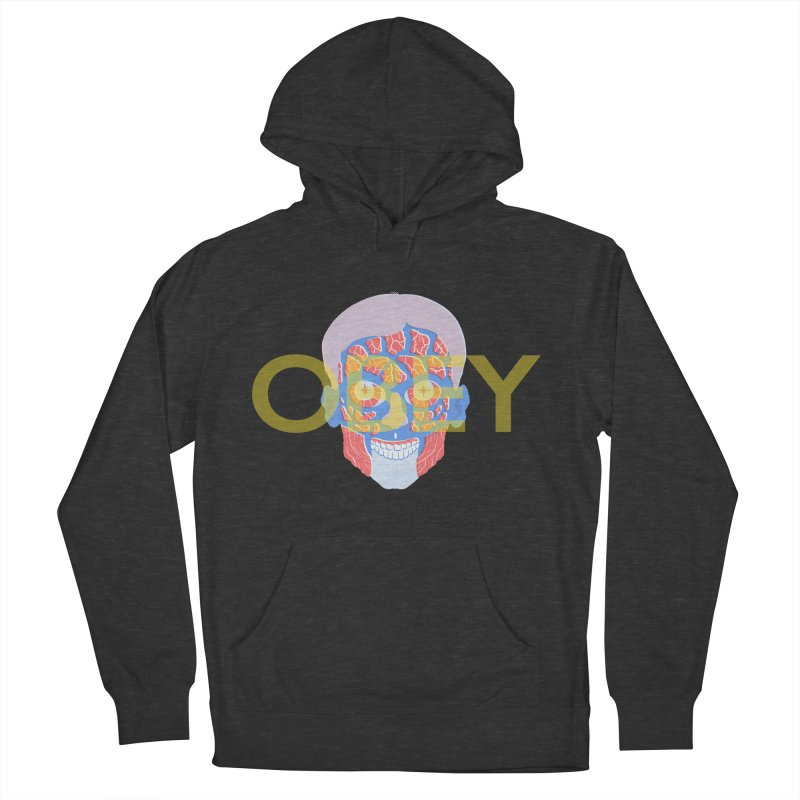 They Live We Sleep Women's French Terry Pullover Hoody by Filmish Tees