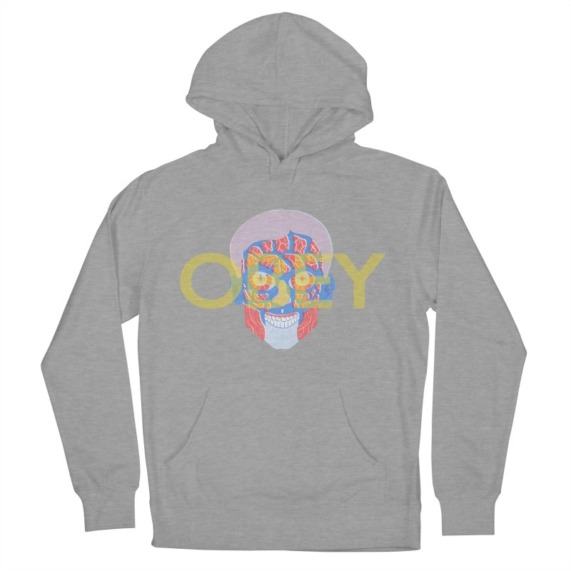 They Live We Sleep Men's French Terry Pullover Hoody by Filmish Tees