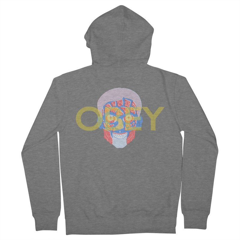 They Live We Sleep Women's French Terry Zip-Up Hoody by Filmish Tees