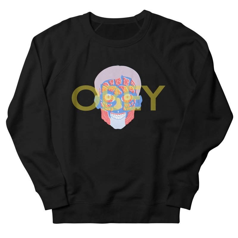 They Live We Sleep Men's French Terry Sweatshirt by Filmish Tees