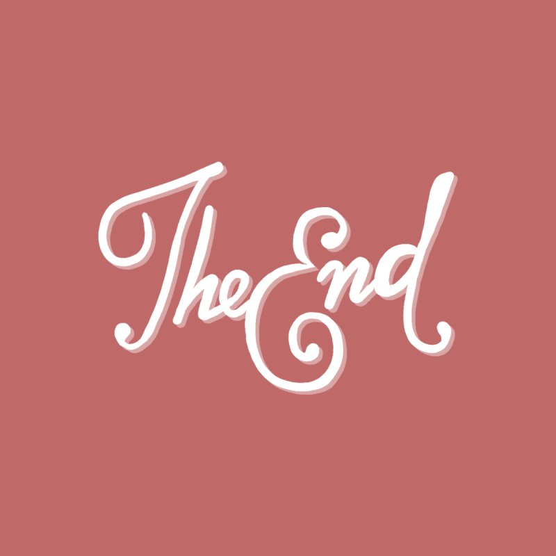 The End Men's T-Shirt by Filmish Tees