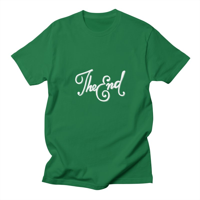 The End Men's Regular T-Shirt by Filmish Tees