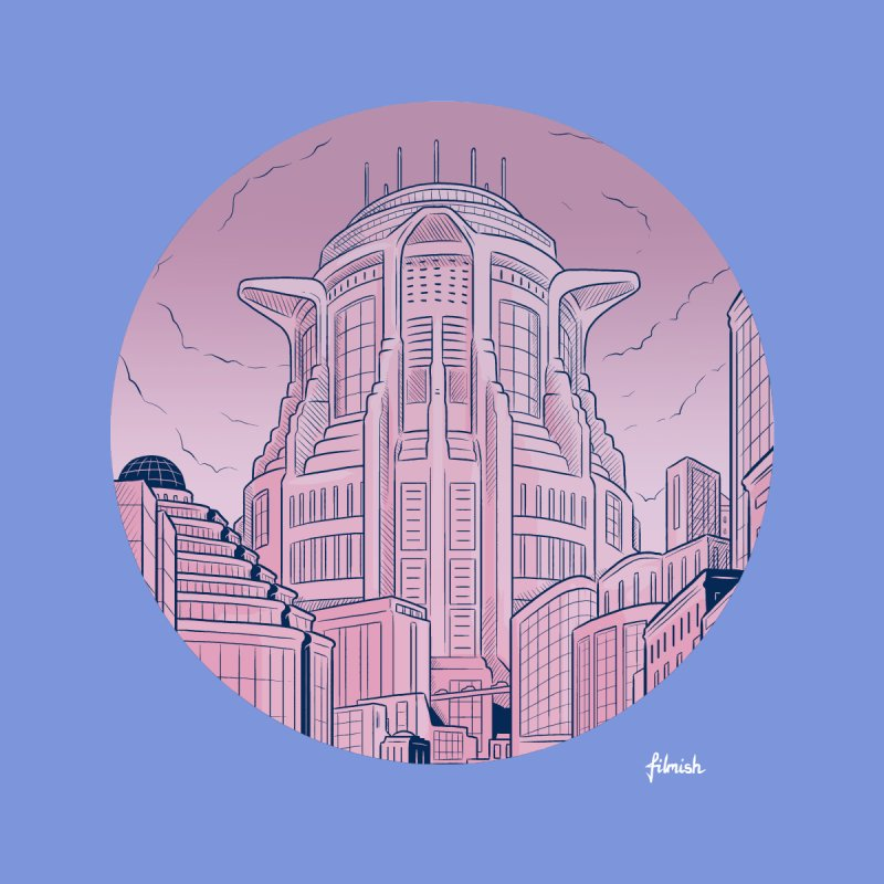 Metropolis by Filmish Tees