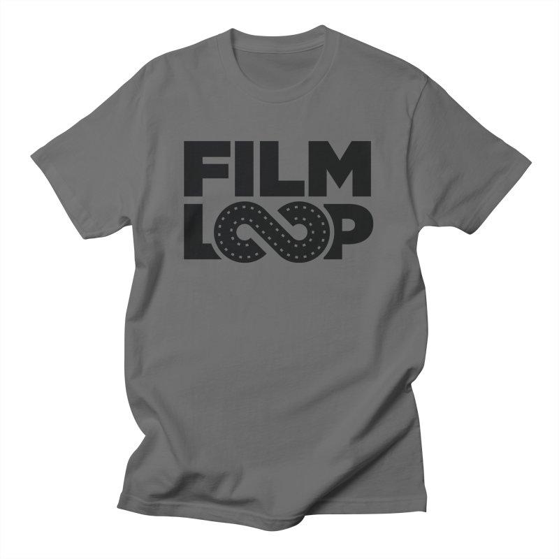 Film Loop Dark Men's T-Shirt by Film Loop Show