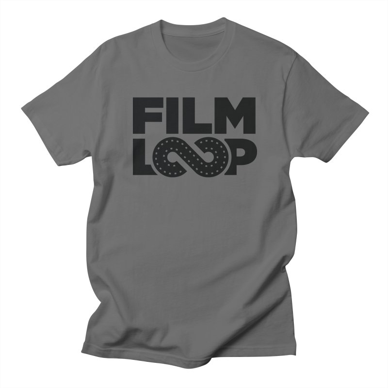 Film Loop Dark in Men's Regular T-Shirt Asphalt by Film Loop Show