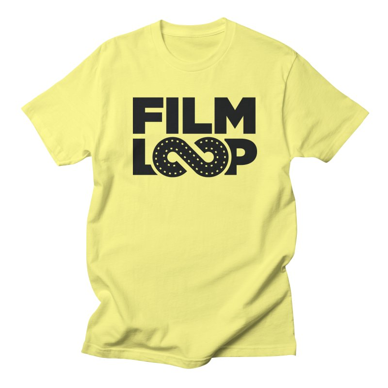 Film Loop Dark Men's Regular T-Shirt by Film Loop Show