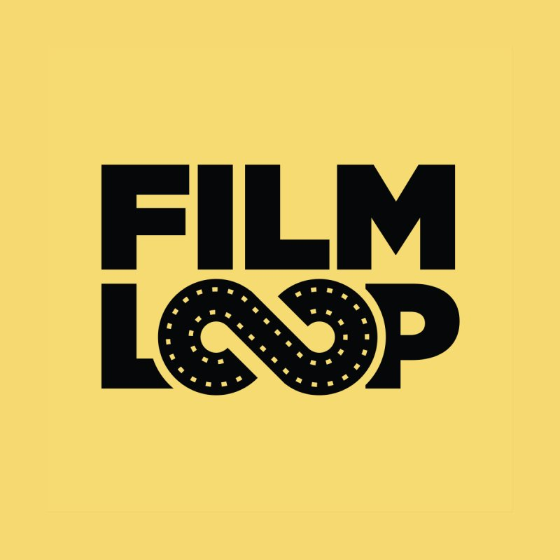 Film Loop Black Accessories Bag by Film Loop Show