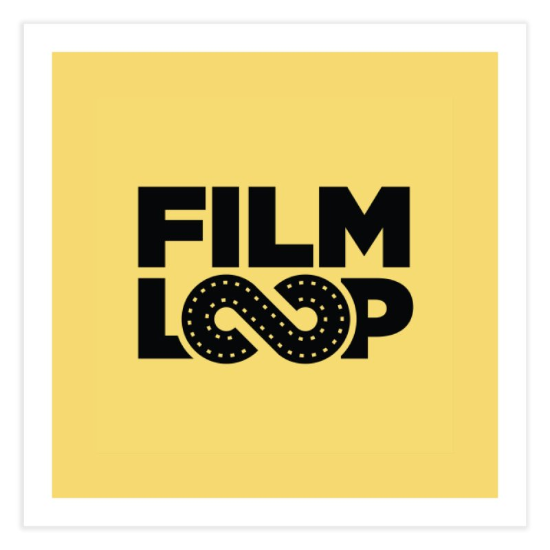 Film Loop Black in Fine Art Print by Film Loop Show