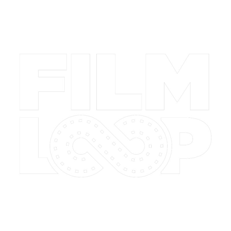 Film Loop White Men's T-Shirt by Film Loop Show