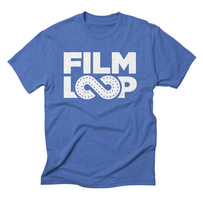 Film Loop White Men's T-Shirt by Film Loop Show