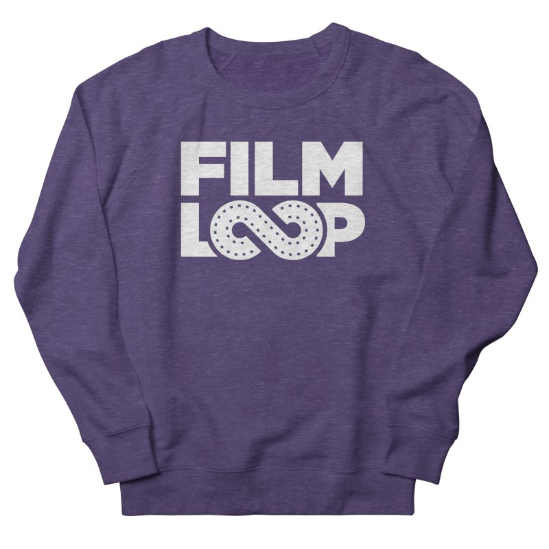 Film Loop White Women's French Terry Sweatshirt by Film Loop Show