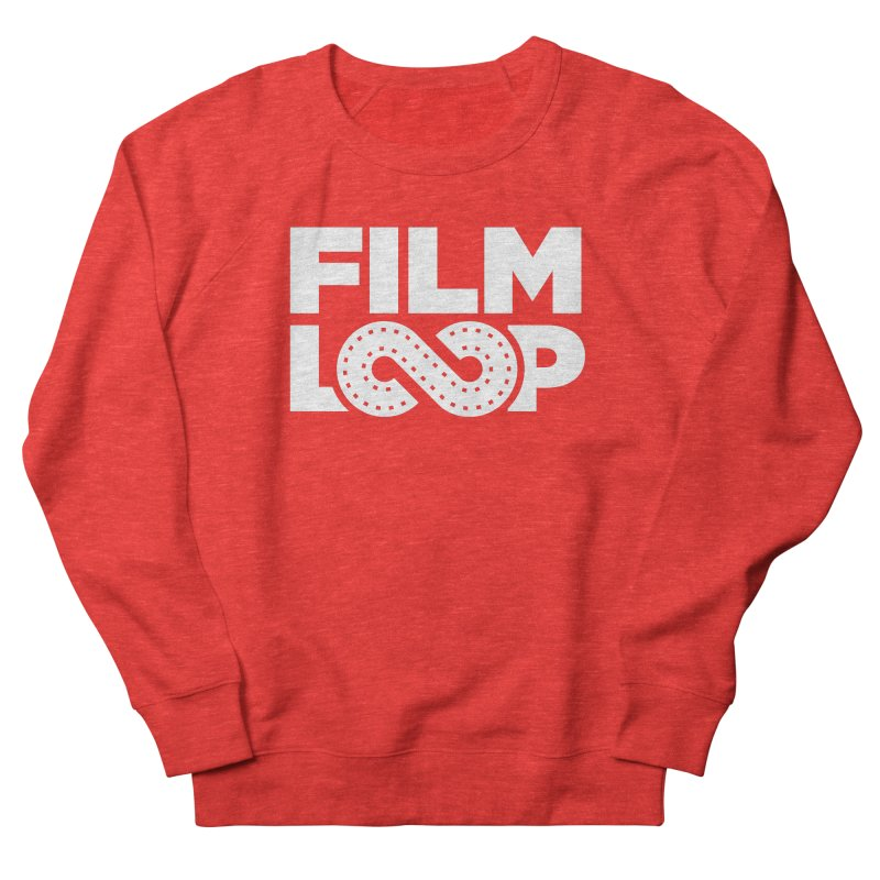 Film Loop White Women's Sweatshirt by Film Loop Show